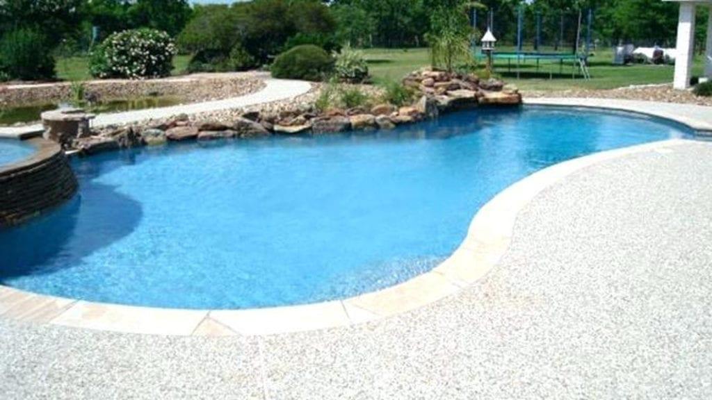 Epoxy Pool Deck Treadwell