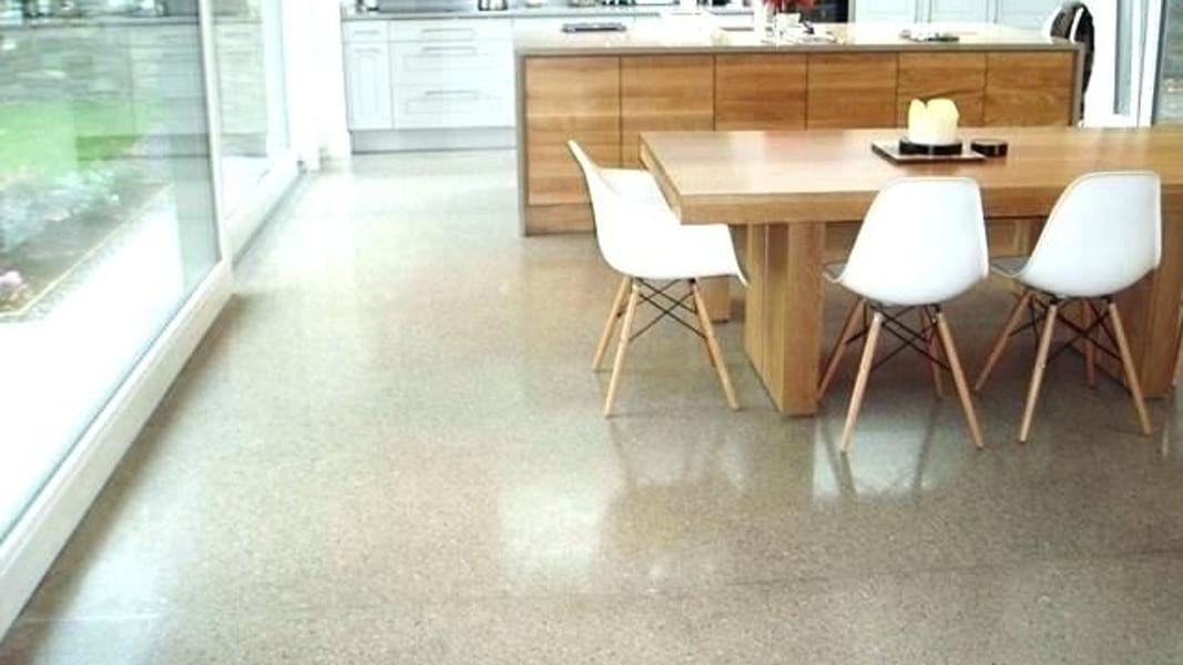 Polished Concrete Kitchen - Treadwell
