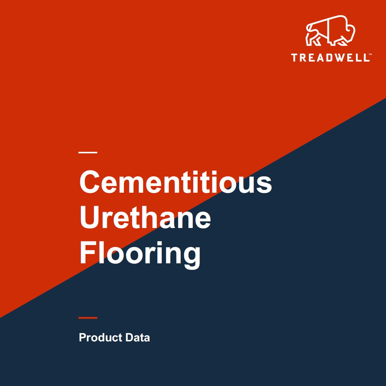 Product Data Sheets Treadwell