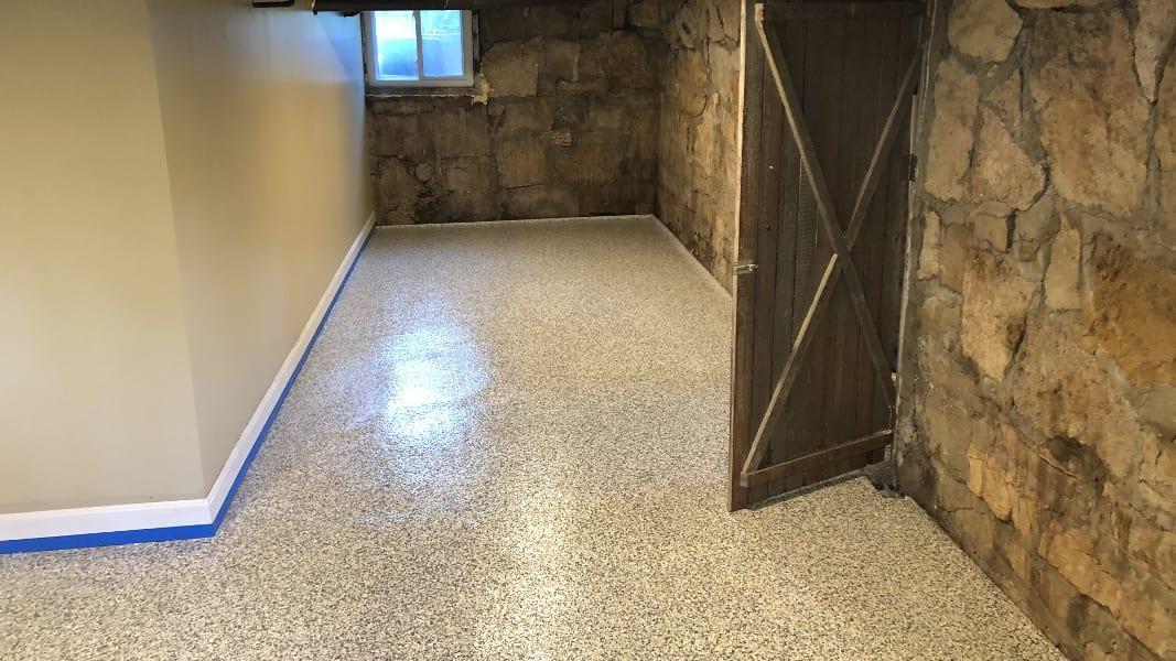 Residential Epoxy Flooring Treadwell